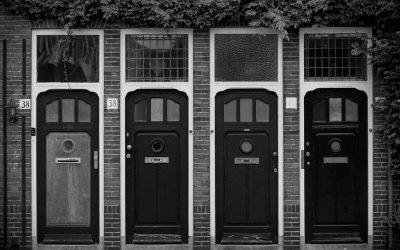 How to improve your front door security | door and frame